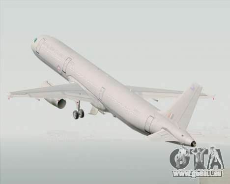 Airbus A321-200 Royal New Zealand Air Force für GTA San Andreas Innenansicht