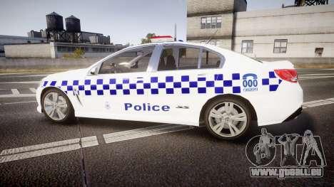 Holden VF Commodore SS Victorian Police [ELS] für GTA 4 linke Ansicht