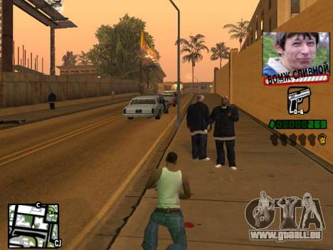 C-HUD for Ghetto für GTA San Andreas dritten Screenshot