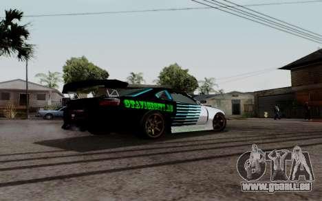 Nissan Silvia S15 v3 pour GTA San Andreas laissé vue