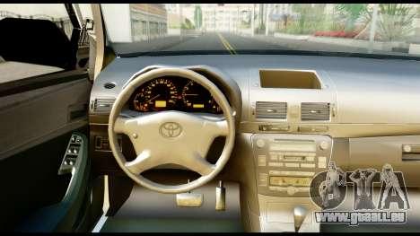 Toyota Hilux Georgia Police pour GTA San Andreas vue de droite