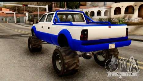 GTA 5 Vapid Sandking XL IVF pour GTA San Andreas laissé vue