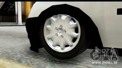 Opel Combo Delta Garage für GTA San Andreas rechten Ansicht