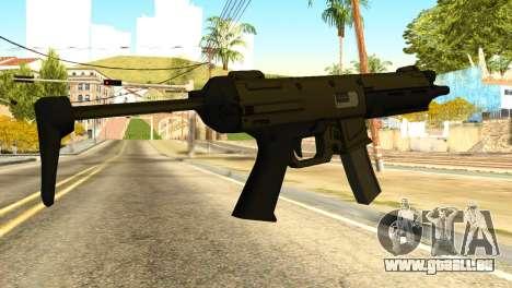 MP5 from GTA 5 für GTA San Andreas zweiten Screenshot