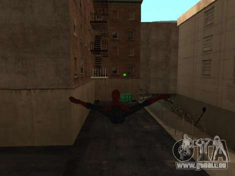 Spiderman Swinging v2.1 für GTA San Andreas zweiten Screenshot