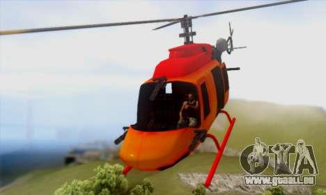 Bandit Maverick pour GTA San Andreas sur la vue arrière gauche