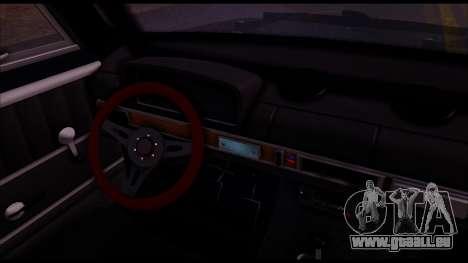 VAZ 2101 COLOMBIE-BRITANNIQUE pour GTA San Andreas vue arrière
