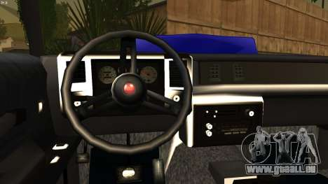 Chevy Monte Carlo pour GTA San Andreas sur la vue arrière gauche