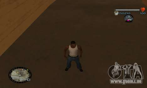 C-HUD UNIVERSAL für GTA San Andreas her Screenshot