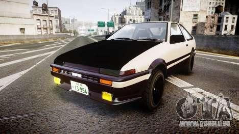 Toyota AE86 Tofu für GTA 4