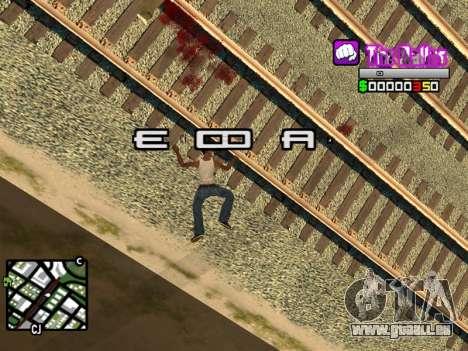 C-HUD Ballas by Inovator für GTA San Andreas her Screenshot