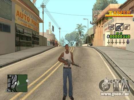 С-HUD von D. Gurt für GTA San Andreas dritten Screenshot