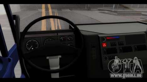 Iveco Eurotech (No Snow) für GTA San Andreas Rückansicht