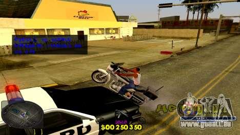 C-HUD Barcelona pour GTA San Andreas troisième écran