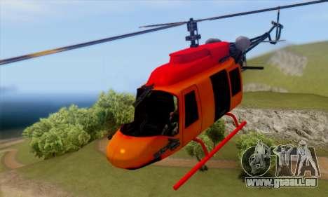 Bandit Maverick pour GTA San Andreas vue arrière