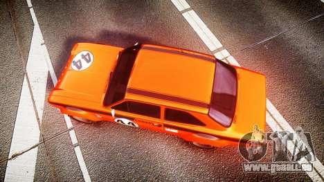 Ford Escort RS1600 PJ44 pour GTA 4 est un droit