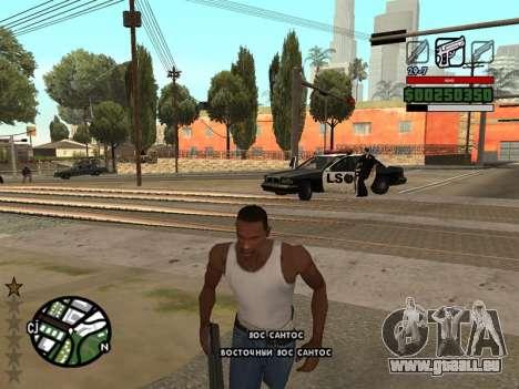 Komfortable C-HUD für GTA San Andreas zweiten Screenshot