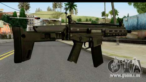 SCAR from from State of Decay pour GTA San Andreas deuxième écran