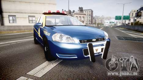 Chevrolet Impala West Virginia State Police ELS für GTA 4