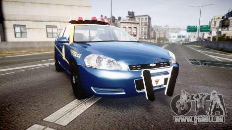 Chevrolet Impala West Virginia State Police ELS pour GTA 4