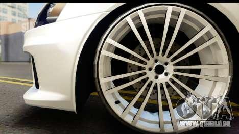 Mitsubishi Lancer X RE-Racing Edition pour GTA San Andreas vue de droite
