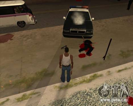 Einstellungen Ragdoll für GTA San Andreas zweiten Screenshot