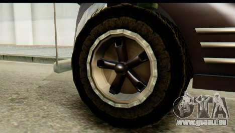 Chevrolet C.O.E. Semimula pour GTA San Andreas sur la vue arrière gauche