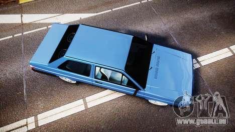 Volkswagen Voyage 1990 für GTA 4 rechte Ansicht