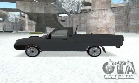Dacia 1305 Papuc Pick-Up Drop Side 1.9D für GTA San Andreas rechten Ansicht