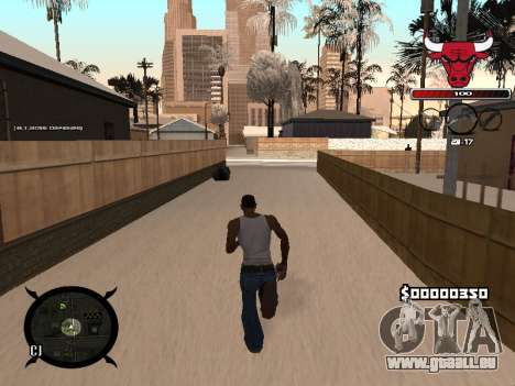 C-HUD Angry für GTA San Andreas dritten Screenshot