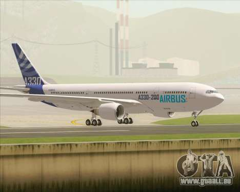 Airbus A330-200 Airbus S A S Livery pour GTA San Andreas vue intérieure