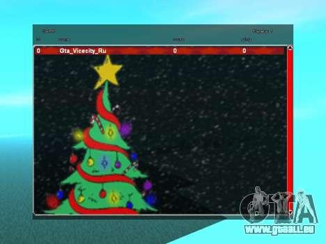 SampGUI atmosphère de Noël pour GTA San Andreas