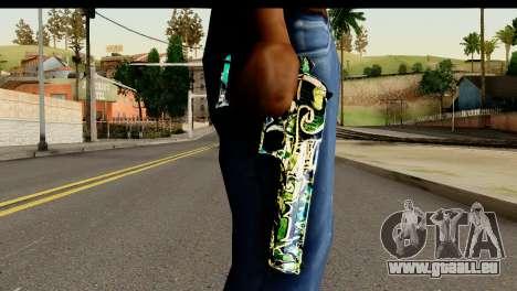 Grafiti Desert Eagle für GTA San Andreas dritten Screenshot