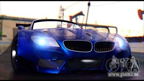 BMW Z4 GT3 pour GTA San Andreas