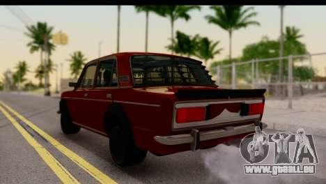 VAZ 2106 BQ pour GTA San Andreas laissé vue