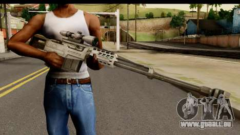 Accuracy International AS50 .50 BMG für GTA San Andreas dritten Screenshot