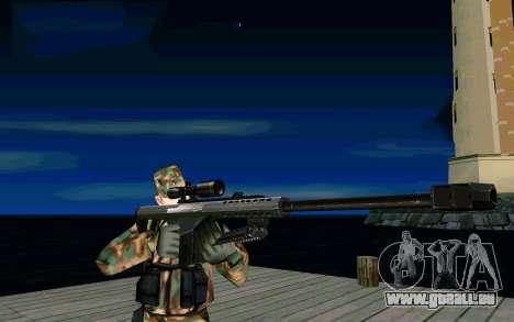 Barret M107 pour GTA San Andreas deuxième écran