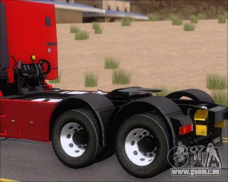 Iveco Stralis HiWay 6x4 pour GTA San Andreas vue intérieure