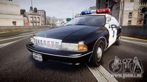 Chevrolet Caprice 1990 LCPD [ELS] Patrol pour GTA 4