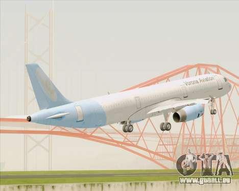 Airbus A321-200 Vorona Aviation pour GTA San Andreas vue arrière