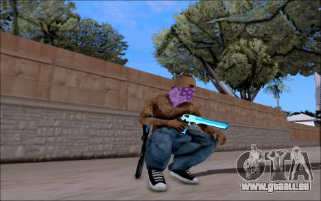 Blueline Gun Pack für GTA San Andreas