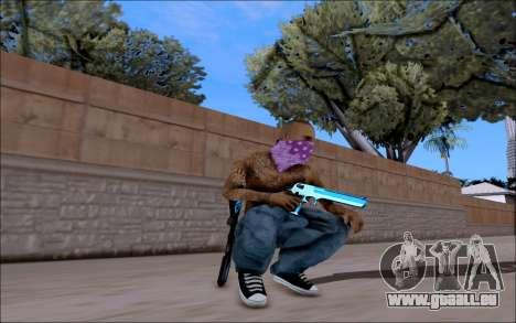 Blueline Gun Pack pour GTA San Andreas