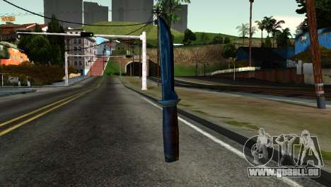 Knife from Kuma War für GTA San Andreas zweiten Screenshot