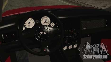 Audi RS2 Coupe pour GTA San Andreas vue de droite