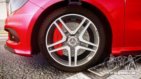 Mersedes-Benz A45 AMG pour GTA 4 Vue arrière