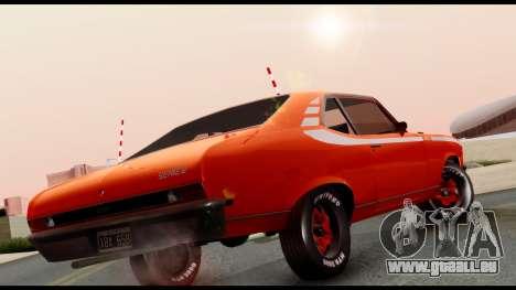 Chevrolet Series 2 1973 pour GTA San Andreas sur la vue arrière gauche