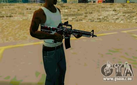 M4A1 (Looney) pour GTA San Andreas