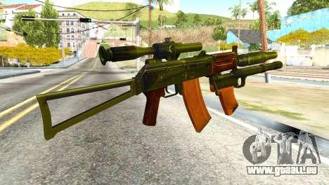 Canaries (america's Army) pour GTA San Andreas deuxième écran