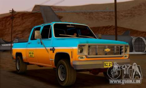 Chevrolet Custom Deluxe pour GTA San Andreas