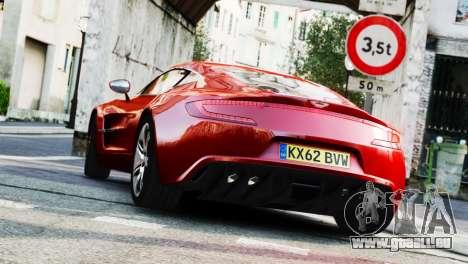 Aston Martin One-77 2010 [EPM] pour GTA 4 est une gauche